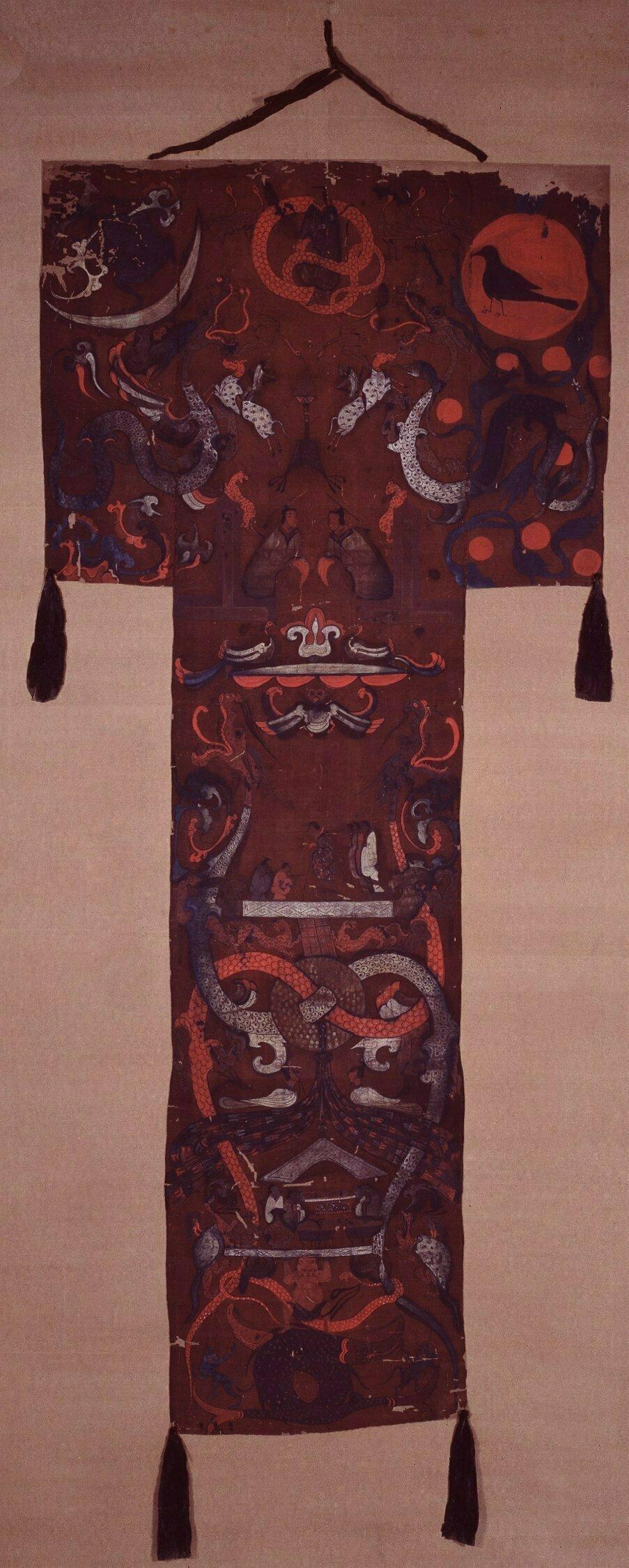 Mawangdui_silk_banner_from_tomb_no1