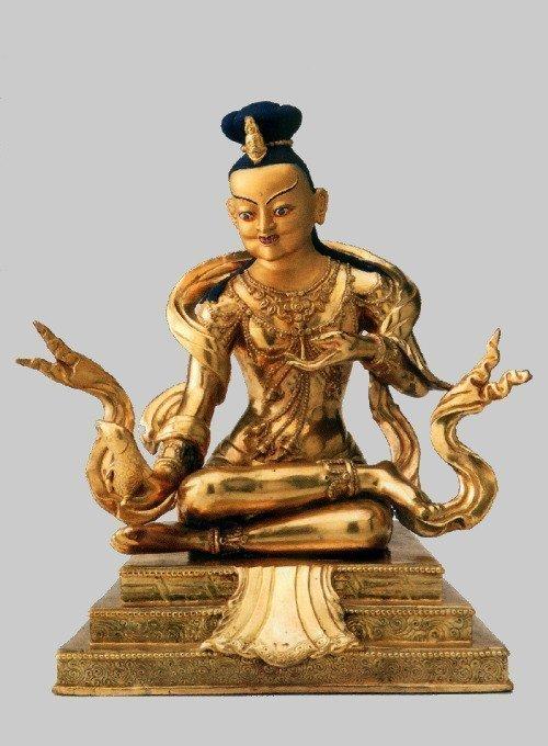 Il maestro indiano Tilopa (988 – 1069), è considerato il primo patriarca della tradizione Kagyu del Buddhismo Tibetano. A lui si deve il celebre Mahamudra, ossia un metodo immediato per conseguire l'illuminazione.